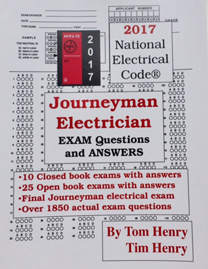 2017 Journeyman Exam Question and Answer Book