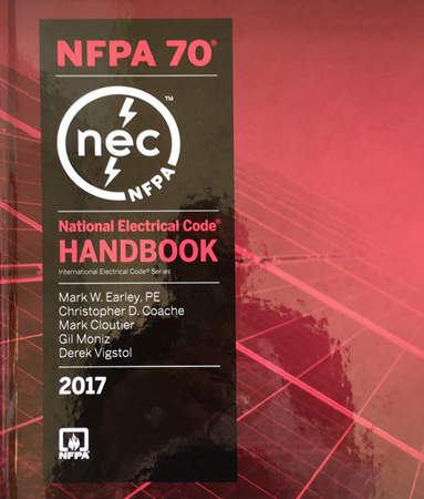 2017 National Electrical Code Handbook