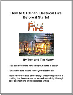 Tom henrys electrical books and study guides 669 how to stop an electrical fire before it starts fandeluxe Choice Image