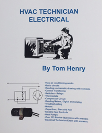 Tom henrys electrical books and study guides 821 hvac technician electrical fandeluxe Image collections