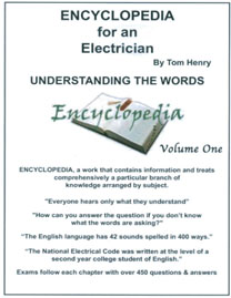 Tom henrys electrical books and study guides 933 encyclopedia for an electrician 2 volume set fandeluxe Choice Image